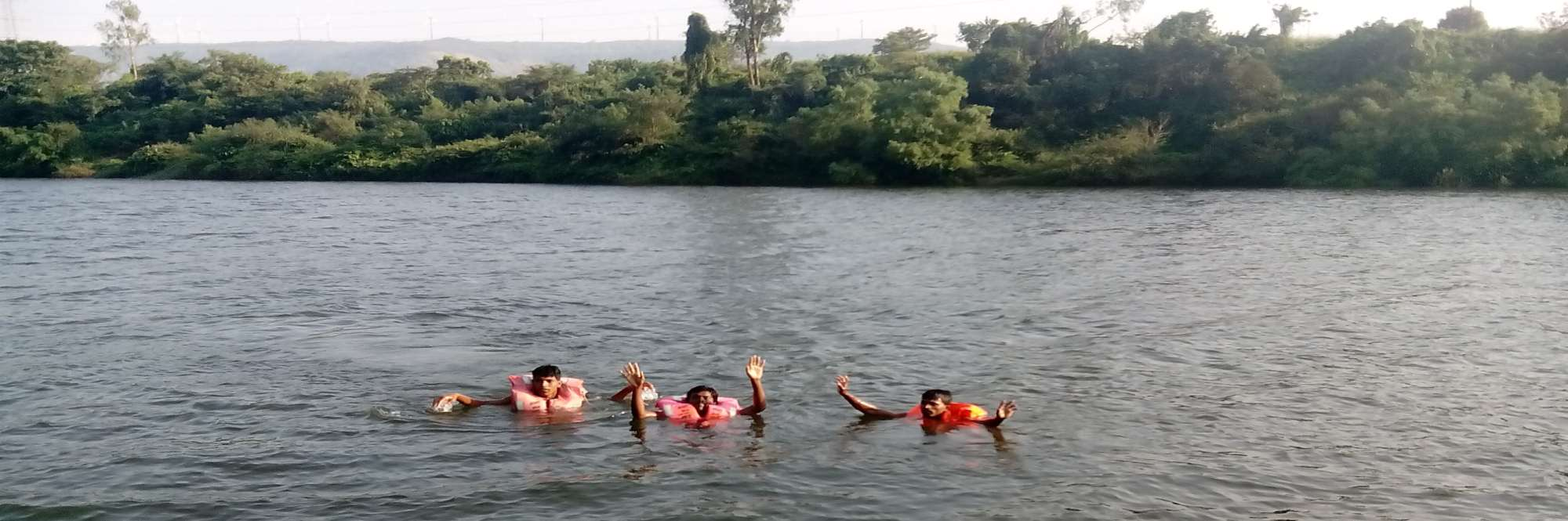 Fishing & Swimming in the Koyna River